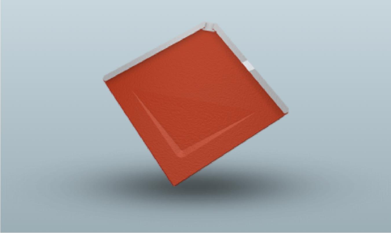 Losange de toiture 29x29