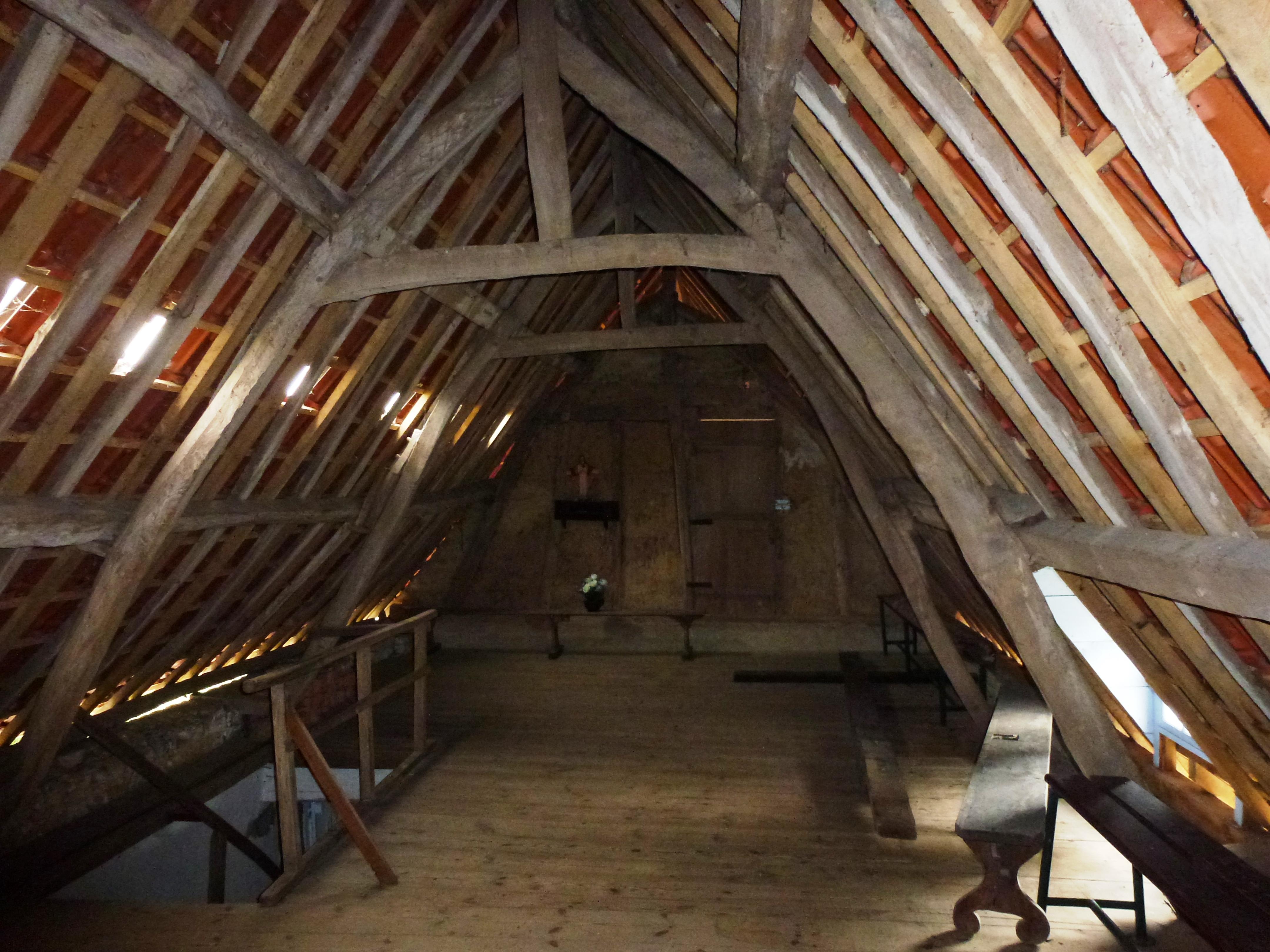 isolation des combles a travers toit