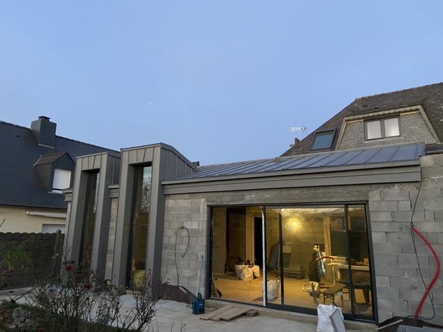 couverture a travers toit étanchéité toiture joint debout